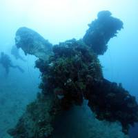 Ghostly Japanese shipwrecks at the bottom of Chuuk Lagoon