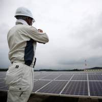Inconvenient truth?: The Ministry of Economy, Trade and Industry appears to believe that renewables are too inconvenient, since facilities for transmitting electricity produced by renewable power structures would have to be built. | BLOOMBERG