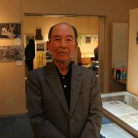 Lifelong mission: Katsumoto Saotome helped set up the privately funded Center of the Tokyo Raids and War Damage in Tokyo's Koto Ward after a long campaign to create a public 'peace museum' to commemorate the attacks failed to bear fruit. | IAN MUNROE