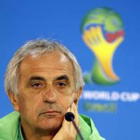 The new boss: Vahid Halilhodzic, a 62-year-old Bosnian, has been hired as the Japan men's national team manager, the Japan Football Association announced on Thursday. Halilhodzic guided Algeria during the 2014 World Cup. | AP