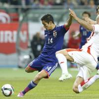 Japan strikes twice in second half against Tunisia