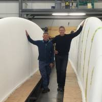 Firm makes waves with record surfboard bid