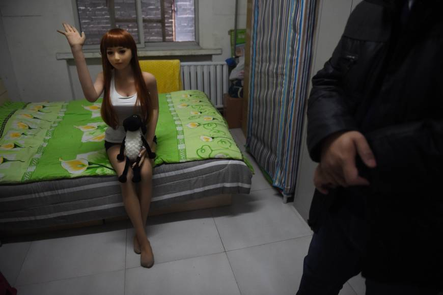 High-end China sex dolls offer alternative to adultery