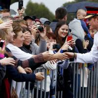 Prince Harry arrives Down Under for month's army stint