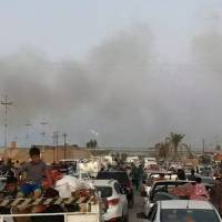 Security forces battle Islamic State inside Iraq's largest refinery; militants hit Ramadi again