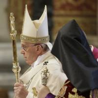 Pope calls Turkey's Armenian slaughter 'genocide'