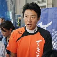 Ex-tennis pro Matsuoka tops poll's ideal male boss list