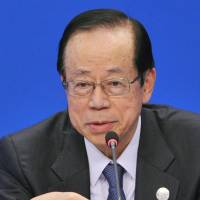 Ex-Prime Minister Fukuda urges Asian leaders not to agitate public opinion