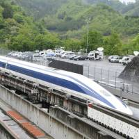Maglev train clocks 603 kph, setting new world record