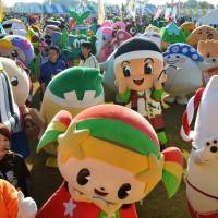 Japan's cuddly yet costly mascots face extermination