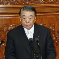 Lower House approves Machimura's resignation, selects Oshima as successor