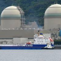 Kansai Electric Power Co.'s Takahama nuclear power plant is seen in Fukui Prefecture in June 2013. | AFP-JIJI