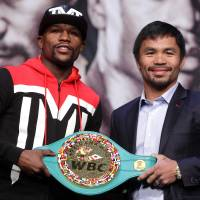 Mayweather, Pacquiao set to cash in