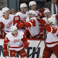 Red Wings beat Wild after eight rounds of SO