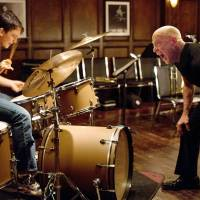 Incorrigibly obsessive: J.K. Simmons' award-winning turn as Fletcher, a fanatical and violent music teacher, was based on a real-life teacher director Damien Chazelle met while studying jazz drumming. | © 2013 WHIPLASH, LLC. ALL RIGHTS RESERVED.
