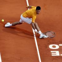 Djokovic tops Nadal on clay