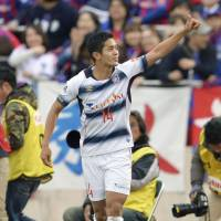Chelsea target Muto sends FC Tokyo joint-top of J. League table