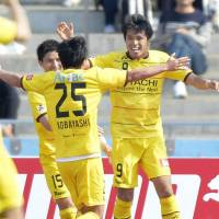 Kudo scores two goals to power Reysol's rout of Frontale