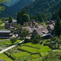 Tucked away in a mountain valley of Toyama Prefecture, Ainokura village's basic outline and architecture has changed little over the past centuries | STEPHEN MANSFIELD