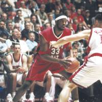 Close bond: Melvin Ely, who helped lead Fresno State to back-to-back NCAA Tournament appearances in 2000 and 2001, remained close with his college mentor, Jerry Tarkanian, until the coaching legend died in February. Ely won an NBA title with the San Antonio Spurs in 2007. | FRESNO STATE ATHLETICS