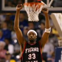 Colorful career: The No. 12 pick in the 2002 NBA Draft, Melvin Ely was a two-time Western Athletic Conference Player of the Year for Fresno State. | THE FRESNO BEE