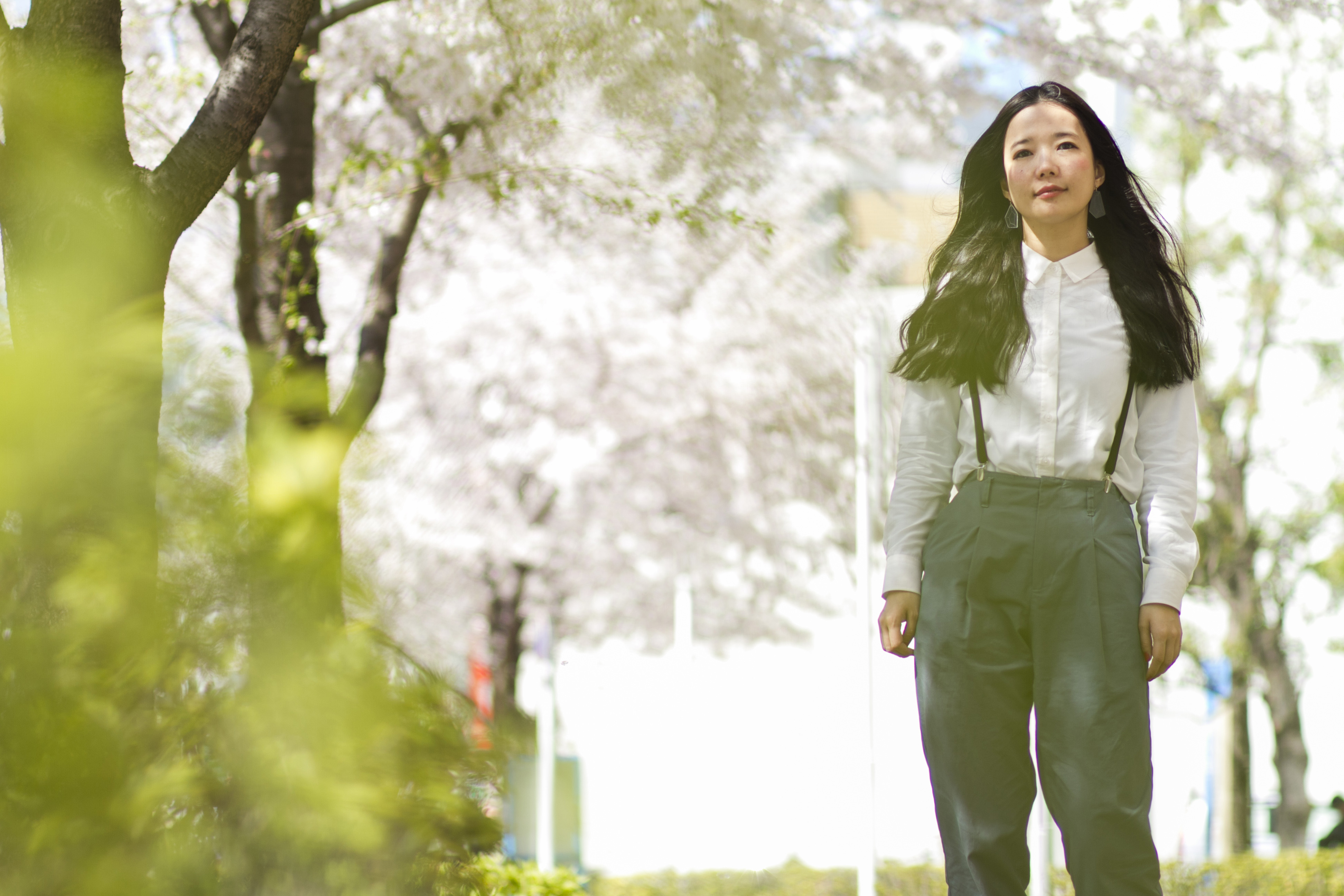 Shout it out: Mayuko Hitotsuyanagi, aka Cuushe, has begun to perform her ethereal pop songs with unexpected gusto. | JAMES HADFIELD