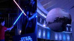 "[VIDEO] ""Star Wars Visions"" exhibition starts in Tokyo"