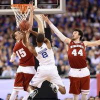 Kentucky's perfect season ends with loss to Wisconsin