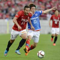 Reds overcome Marinos, reclaim sole possession of J. League lead
