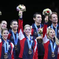 U.S. edges Russia for World Team Trophy title