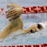 Hagino claims third straight 400-meter freestyle title at nationals