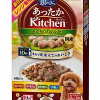 A package of microwave-ready dog food waits to be heated. | KYODO