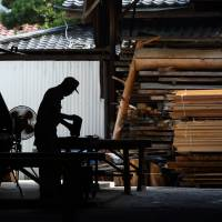 Timber exports surge on weak yen, demand from China