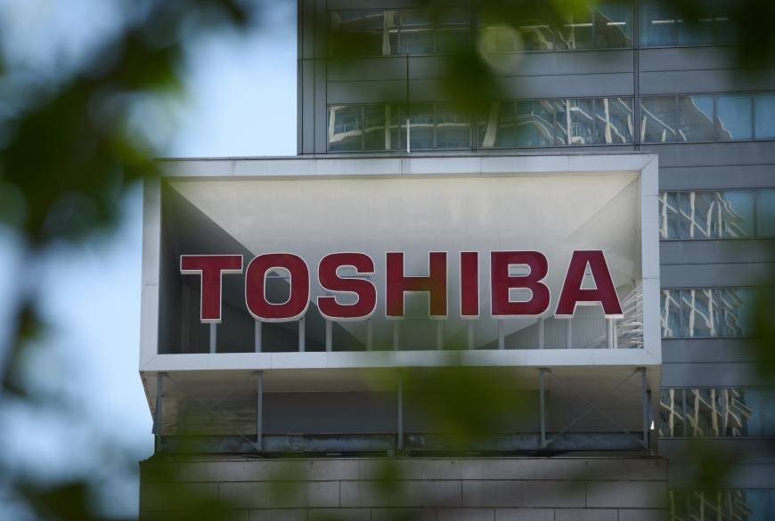 Share index may hit the off switch on Toshiba