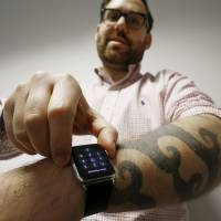 Dark tattoos daunt Apple Watch