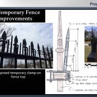 Second layer of steel spikes to be added to White House fence