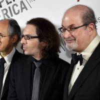 Security bolstered as Charlie Hebdo is honored in New York