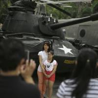 On the green, Vietnam army's capitalist streak