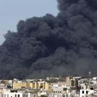 Saudi-led airstrikes hammer Sanaa hours before truce; U.S. urges Iran to divert freighter to Djibouti