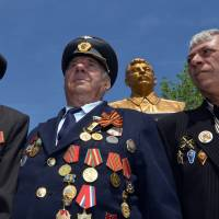 Monument to Stalin is unveiled in Russian city despite criticism