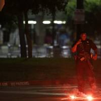 Two gunmen shot dead at Texas Muhammad cartoons show