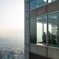 Perhaps the most well-known observation decks to tourists, the facilities at the Tokyo Metropolitan Government Building in Shinjuku Ward are perfect for getting a glimpse of one of the city's busiest areas. | OLGA GARNOVA