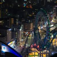 After its completion in 2012, Tokyo Skytree became one of the tallest towers in the world. While it costs money to view the city from its deck, viewing it from the Bunkyo Civic Center can be just as impressive. | OLGA GARNOVA