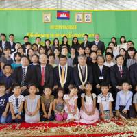 First school dedicated to Japanese residents opens in Cambodia