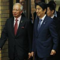 Japan, Malaysia agree to beef up defense cooperation