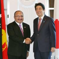 China's shadow looms over summit of Japan and Pacific island nations