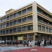 The old Toshima Ward office was built in 1961, and its aging facilities are vulnerable to natural disasters. | SATOKO KAWASAKI