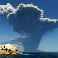 Volcano explodes off Kyushu, forcing small island to evacuate