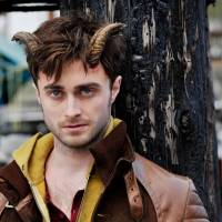 Daniel Radcliffe gets devilish in 'Horns'