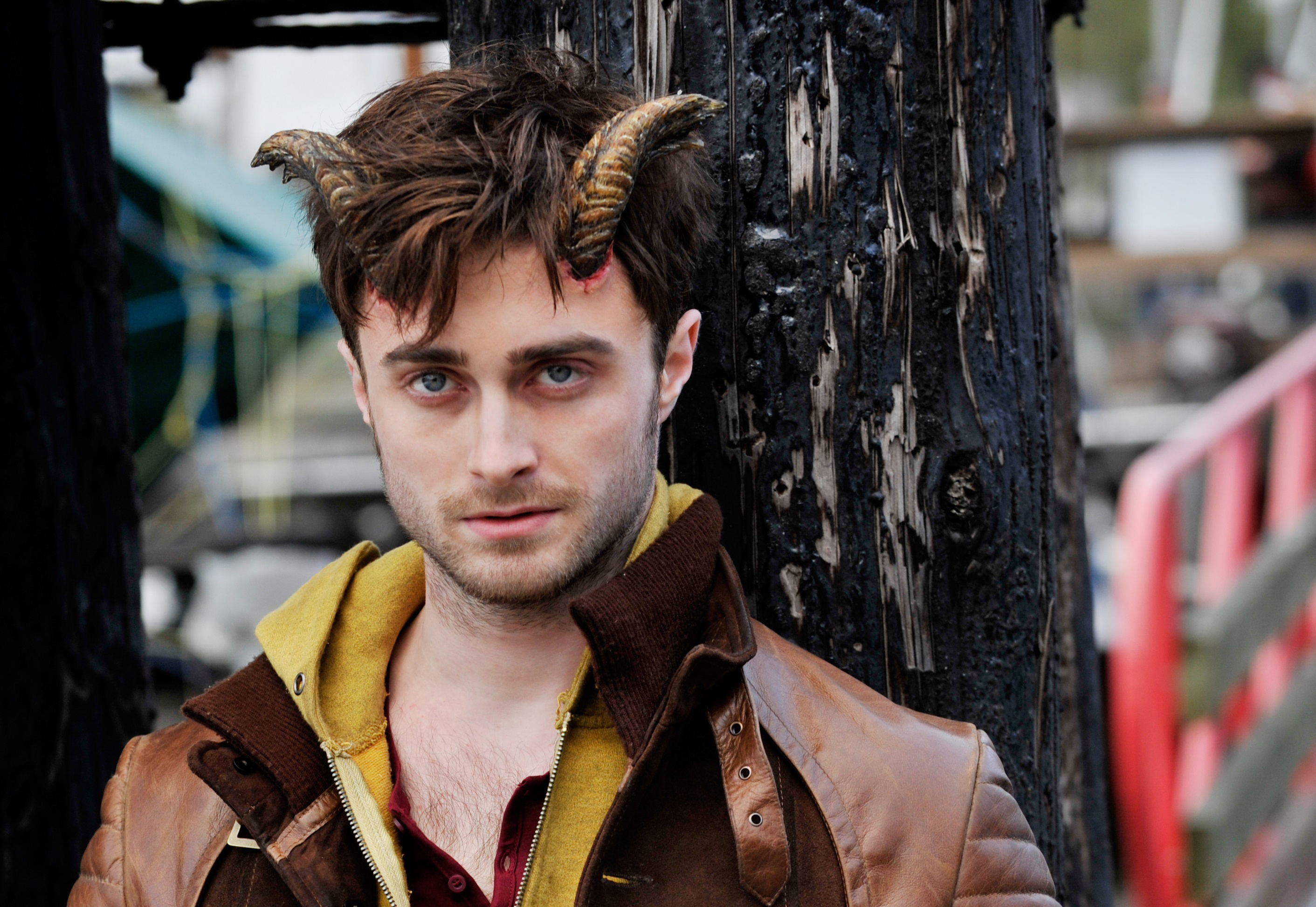 Horns of a dilemma: In 'Horns,' Daniel Radcliffe plays Ig Perrish, a young man who wakes up one day with horns growing out of his head. This new feature coincides with the ability to get those around him to confess their darkest secrets.   © 2014 The Horns Project, Inc. All Rights Reserved